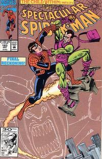 Cover for The Spectacular Spider-Man (Marvel, 1976 series) #183