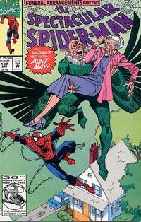Cover Thumbnail for The Spectacular Spider-Man (Marvel, 1976 series) #187
