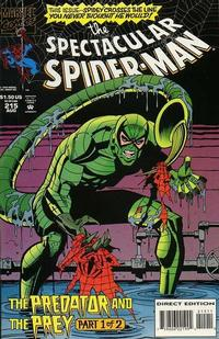 Cover Thumbnail for The Spectacular Spider-Man (Marvel, 1976 series) #215