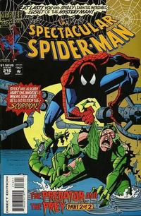 Cover Thumbnail for The Spectacular Spider-Man (Marvel, 1976 series) #216