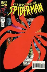 Cover Thumbnail for The Spectacular Spider-Man (Marvel, 1976 series) #223 [Die-Cut Cover]