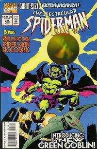 Cover Thumbnail for The Spectacular Spider-Man (Marvel, 1976 series) #225 [Direct Edition - 3D Holodisk]