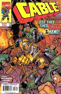 Cover Thumbnail for Cable (Marvel, 1993 series) #58 [Direct Edition]