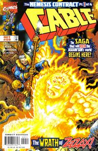 Cover Thumbnail for Cable (Marvel, 1993 series) #59 [Direct Edition]