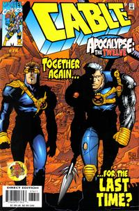 Cover for Cable (Marvel, 1993 series) #76 [Direct Edition]