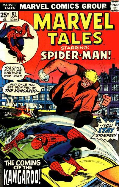 Cover for Marvel Tales (Marvel, 1966 series) #62