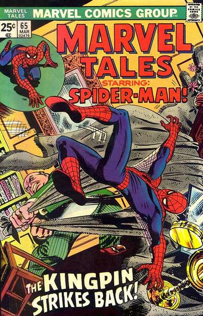 Cover for Marvel Tales (Marvel, 1966 series) #65