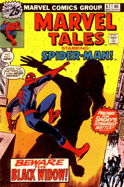 Cover for Marvel Tales (Marvel, 1966 series) #67