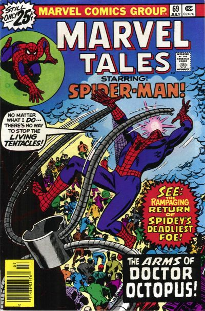 Cover for Marvel Tales (Marvel, 1966 series) #69