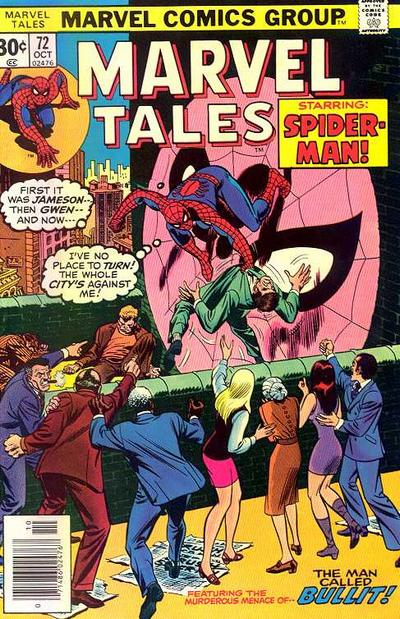 Cover for Marvel Tales (Marvel, 1966 series) #72