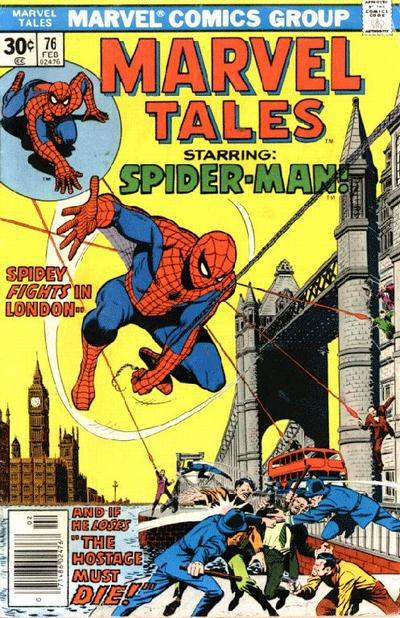 Cover for Marvel Tales (Marvel, 1966 series) #76