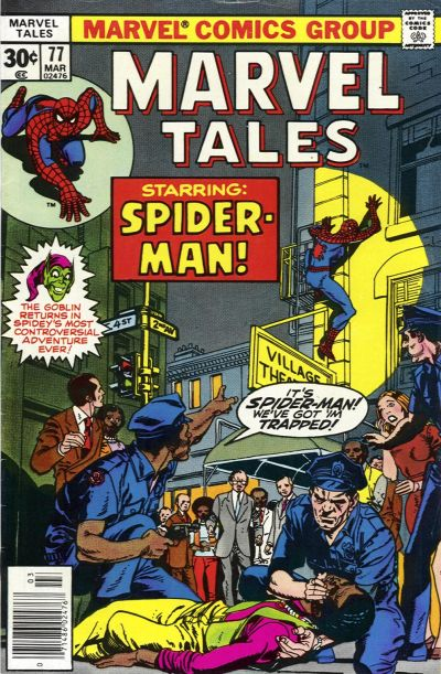 Cover for Marvel Tales (Marvel, 1966 series) #77