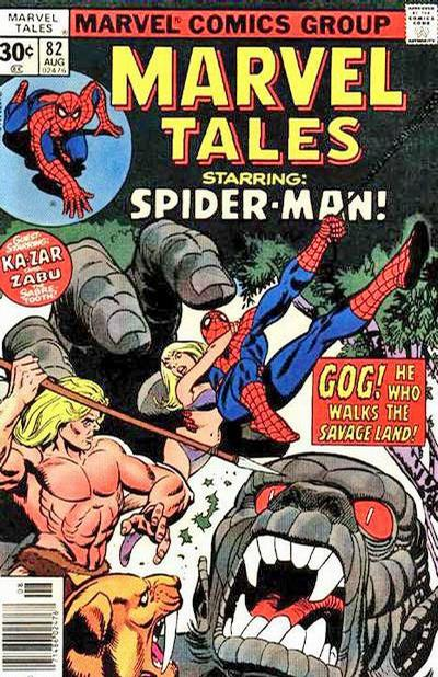 Cover for Marvel Tales (Marvel, 1966 series) #82 [30 cent cover price]