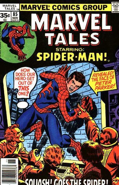 Cover for Marvel Tales (Marvel, 1966 series) #85 [Regular Edition]