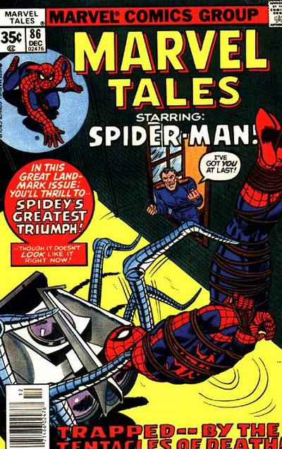 Cover for Marvel Tales (Marvel, 1966 series) #86