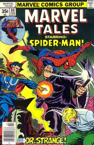 Cover for Marvel Tales (Marvel, 1966 series) #88