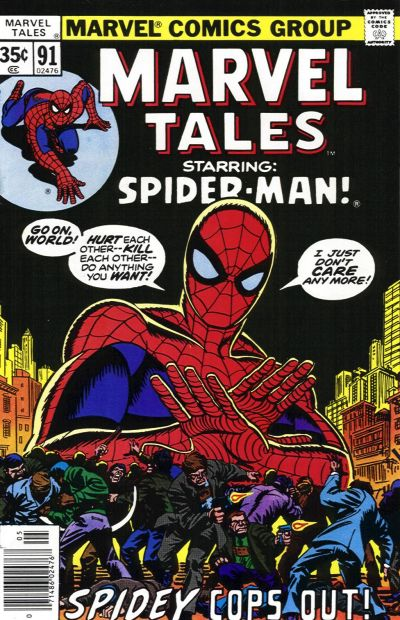 Cover for Marvel Tales (Marvel, 1966 series) #91