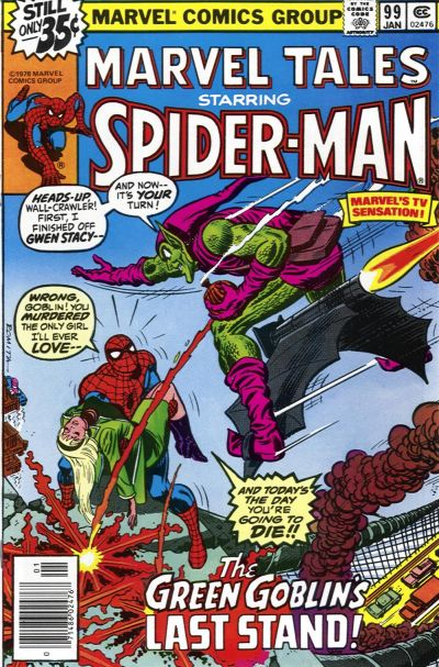 Cover for Marvel Tales (Marvel, 1966 series) #99