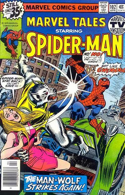 Cover for Marvel Tales (Marvel, 1966 series) #102