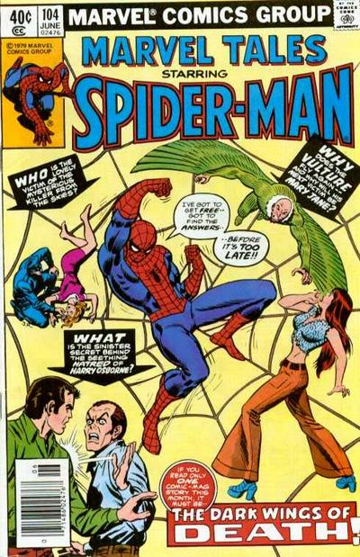 Cover for Marvel Tales (Marvel, 1966 series) #104