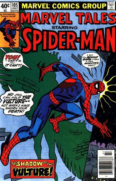 Cover for Marvel Tales (Marvel, 1966 series) #105