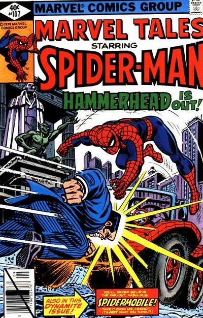 Cover for Marvel Tales (Marvel, 1966 series) #107