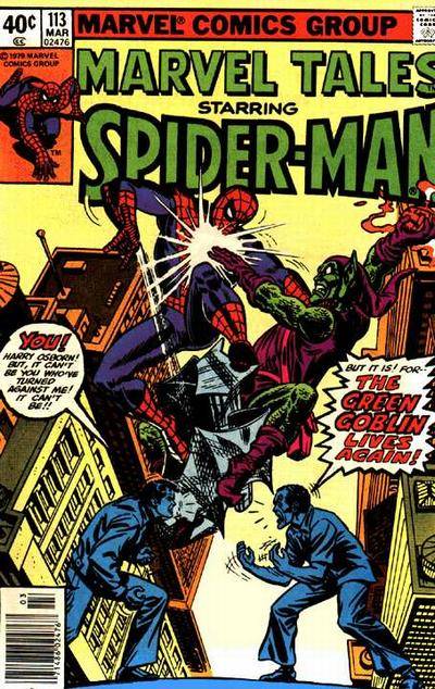 Cover for Marvel Tales (Marvel, 1966 series) #113 [Direct Edition]