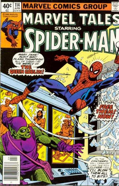 Cover for Marvel Tales (Marvel, 1966 series) #114 [Direct]
