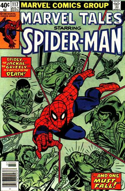 Cover for Marvel Tales (Marvel, 1966 series) #117