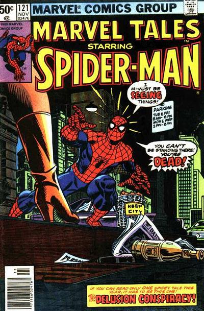 Cover for Marvel Tales (Marvel, 1966 series) #121