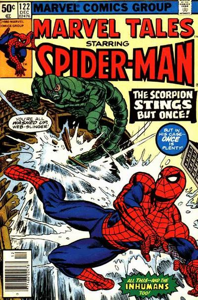 Cover for Marvel Tales (Marvel, 1966 series) #122