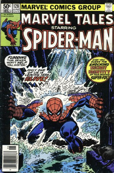 Cover for Marvel Tales (Marvel, 1966 series) #128 [Direct Edition]