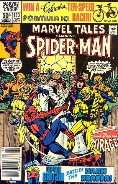 Cover for Marvel Tales (Marvel, 1966 series) #133 [Direct Edition]