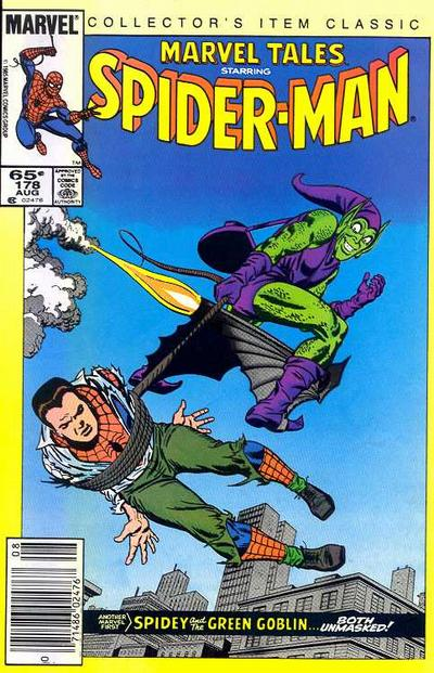 Cover for Marvel Tales (Marvel, 1966 series) #178