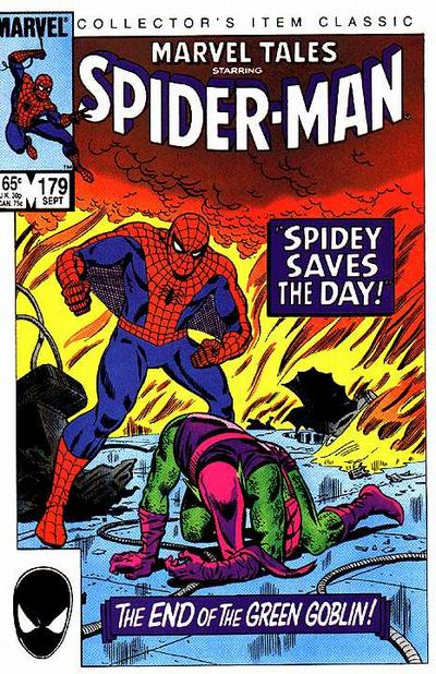 Cover for Marvel Tales (Marvel, 1966 series) #179