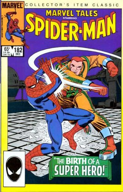 Cover for Marvel Tales (Marvel, 1966 series) #182