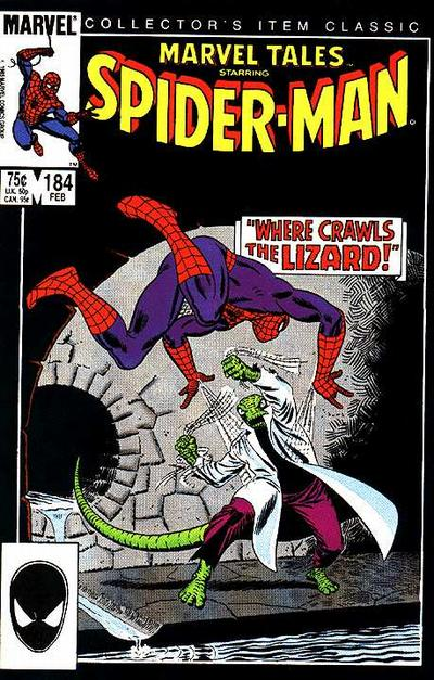 Cover for Marvel Tales (Marvel, 1966 series) #184