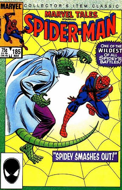 Cover for Marvel Tales (Marvel, 1966 series) #185