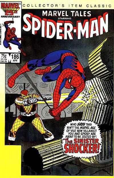 Cover for Marvel Tales (Marvel, 1966 series) #186