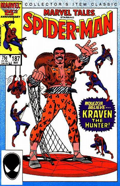 Cover for Marvel Tales (Marvel, 1966 series) #187 [Newsstand]
