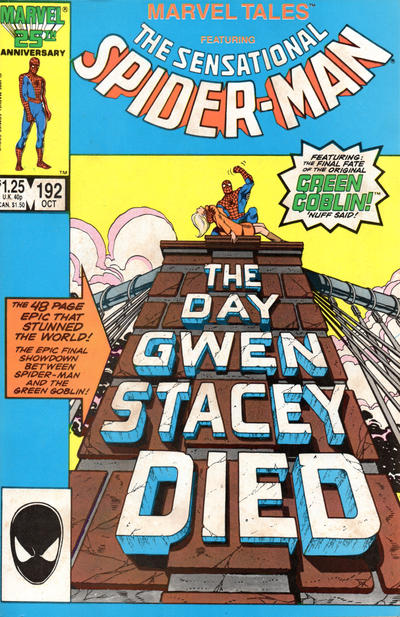 Cover for Marvel Tales (Marvel, 1966 series) #192