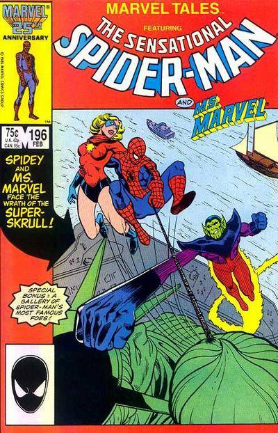 Cover for Marvel Tales (Marvel, 1966 series) #196