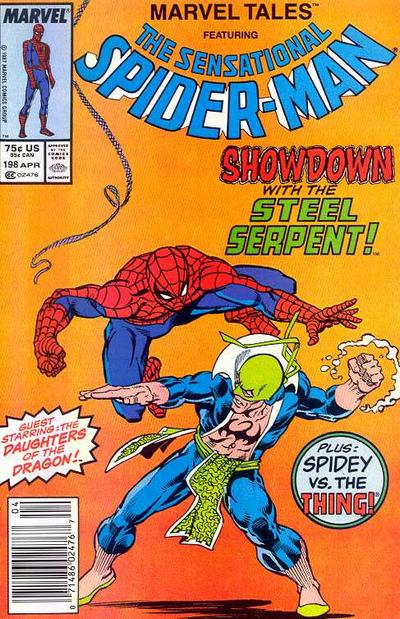 Cover for Marvel Tales (Marvel, 1966 series) #198 [Newsstand Edition]
