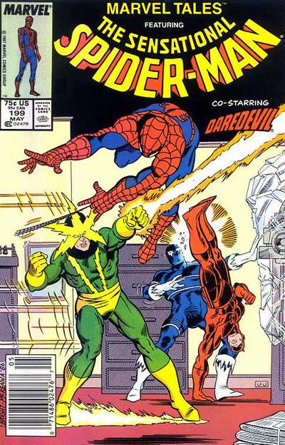 Cover for Marvel Tales (Marvel, 1966 series) #199