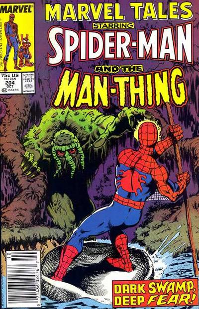 Cover for Marvel Tales (Marvel, 1966 series) #204 [Newsstand]