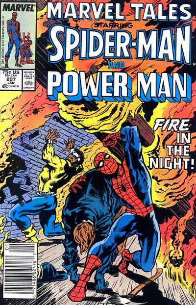 Cover for Marvel Tales (Marvel, 1966 series) #207 [Direct]