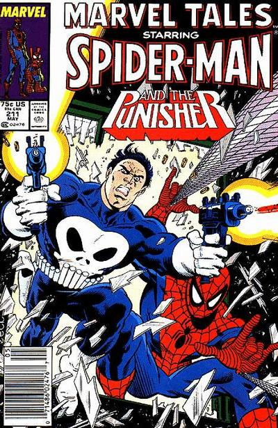 Cover for Marvel Tales (Marvel, 1966 series) #211 [Direct Edition]
