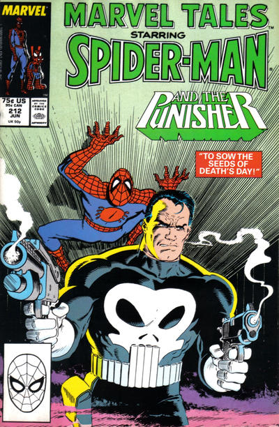 Cover for Marvel Tales (Marvel, 1966 series) #212