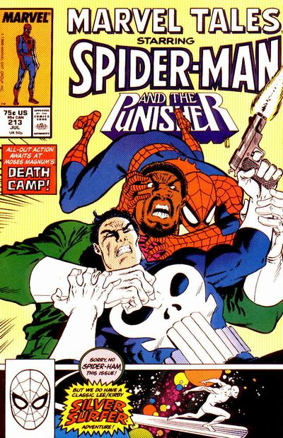 Cover for Marvel Tales (Marvel, 1966 series) #213 [Direct Edition]