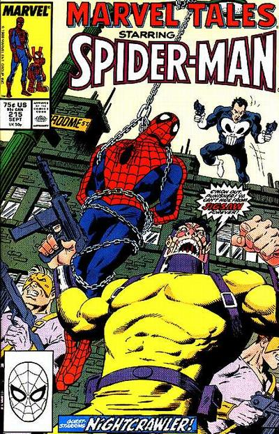 Cover for Marvel Tales (Marvel, 1966 series) #215